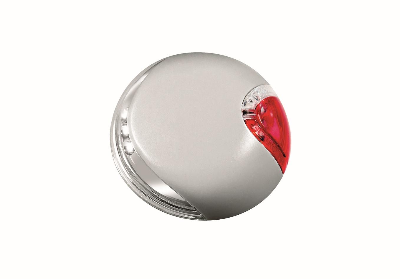 Подсветка на корпус рулетки Flexi Vario LED Lighting System, универсальная, цвет: серый0120710Подсветка Flexi Vario LED Lighting System, изготовленная из высокопрочного пластика, являетсяспециальным дополнением к поводку-рулетке Flexi Vario всех размеров. Подсветка крепится на корпус рулетки при помощи липучей застежки. Прекрасно подойдет для прогулок в темное время суток. Отдельно регулируется передний и задний свет. Работает от 2 батареек типа ААА, 1,5V, которые входят в комплект.