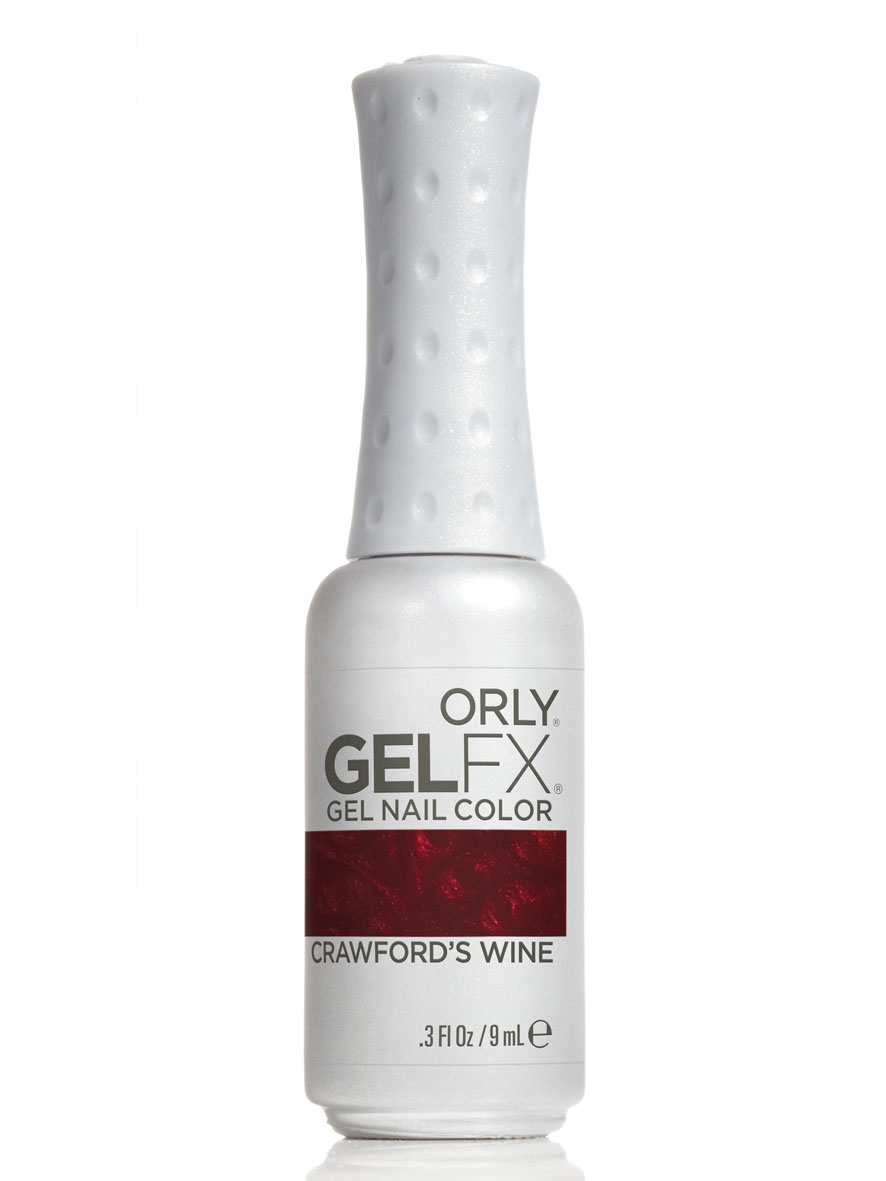 Orly Гель-лак для ногтей Gel FX, тон № 53 Crawfords Wine, 9 млB1864700Гель-маникюр Gel FX - это инновационная улучшенная формула лака, обладающая достоинствами геля, в которой сочетаются простота нанесенияи снятия, невероятная стойкость в течение 2-х недель и ослепительный блеск.Этот уникальный продукт не имеет аналогов у другихпроизводителей, так как только его неповторимая формула, богатая витаминами A и E и провитамином В5, дарит потрясающий уход, исключаетвозникновение проблем с ногтями, обладает свойством самовыравнивания ногтевой пластины, способствует укреплению и защите структурынатурального ногтя. Гель-маникюр Gel FX отмечен значком 3 free: он не содержит в своем составе вредных для здоровья составляющих, таких как толуол,дибутилфталат и формальдегид. Теперь цветное покрытие ногтей ухаживает за ногтями!Каждое из 32 цветных покрытий представлено в элегантном стильном флаконе, оттенок которого соответствует цвету лака из палитры ORLY. Товар сертифицирован.