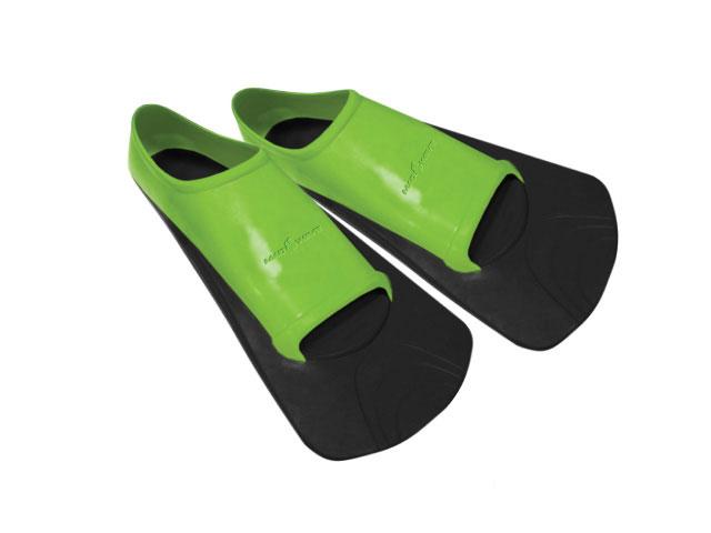 Ласты тренировочные для плавания Mad Wave Training II Rubber, цвет: черный, зеленый. Размер 42-44SF147A-1137Короткие резиновые ласты Mad Wave Training II Rubber предназначены для тренировочного плавания.Особенности:Натуральная резина высокого качества.Длительный срок службы.Мягкая, удобная анатомическая посадка.Разработаны для плавания и тренировок.