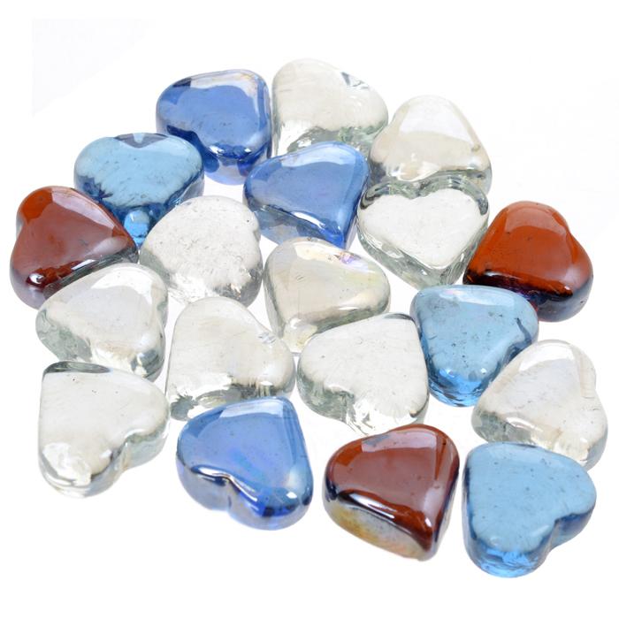 Набор декоративных камней Сердечки, 300 г410121/310611/310612Набор декоративных камней Сердечки замечательно подойдет для украшения вашего дома. Изделия выполнены в виде сердец разного цвета. Набор можно использовать для создания индивидуального интерьера, а так же как наполнитель декоративных ваз. Декоративные камни создают чувство уюта и улучшают настроение. Размер камня: 2,5 см х 2,5 см х 3,3 см
