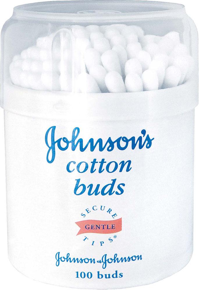 Johnsons baby Ватные палочки, 100 шт30120050Ватные палочки JOHNSON'S Baby изготовлены исключительно из 100 % чистого хлопка – мягкого природного материала, обладающего абсорбирующими свойствами. Ватная головка не расслаивается и имеет хорошее сцепление с палочкой.Товар сертифицирован.