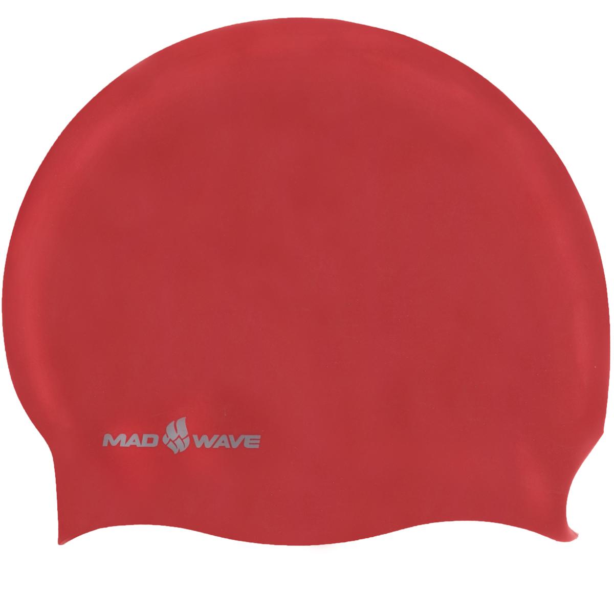 Шапочка для плавания Mad Wave Reverse Champion, цвет: серебро, красный100070793D двусторонняя шапочка для плавания Mad Wave Reverse Champion изготовлена из мягкого прочного силикона, который обеспечивает идеальную подгонку и комфорт. Материал шапочки не вызывает раздражения, что гарантирует безопасность использования шапочки. Силикон не пропускает воду и приятен на ощупь.