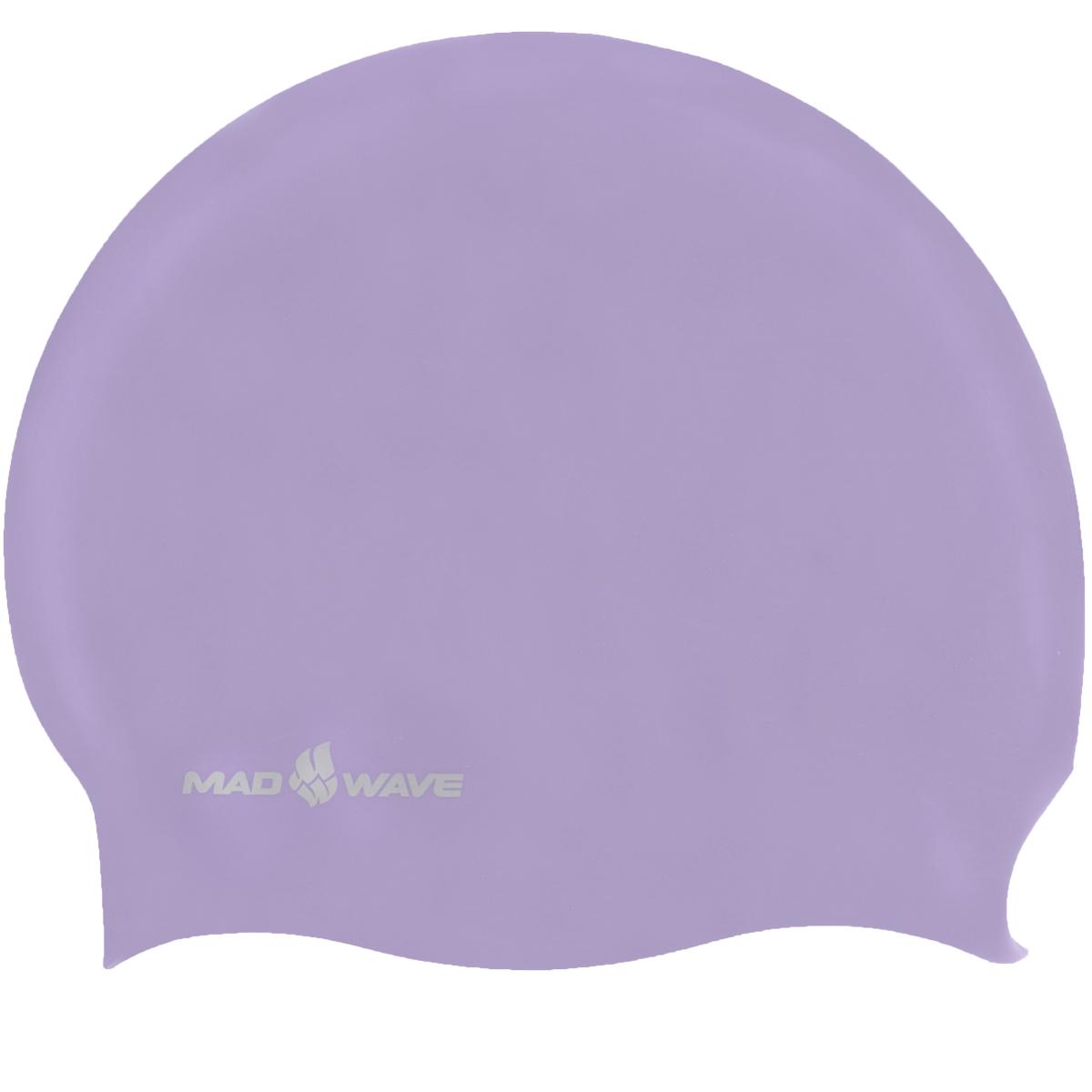 Шапочка для плавания Mad Wave Reverse Champion, цвет: розовый, фиолетовый100070783D двусторонняя шапочка для плавания Mad Wave Reverse Champion изготовлена из мягкого прочного силикона, который обеспечивает идеальную подгонку и комфорт. Материал шапочки не вызывает раздражения, что гарантирует безопасность использования шапочки. Силикон не пропускает воду и приятен на ощупь.