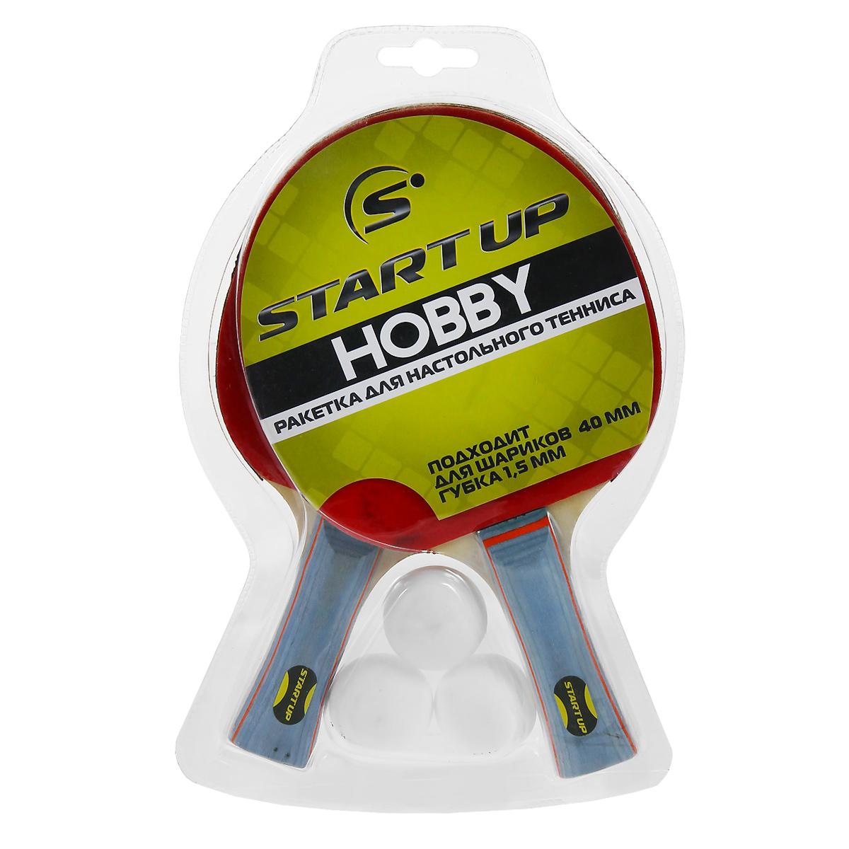 Набор для настольного тенниса Start Up, 5 предметов