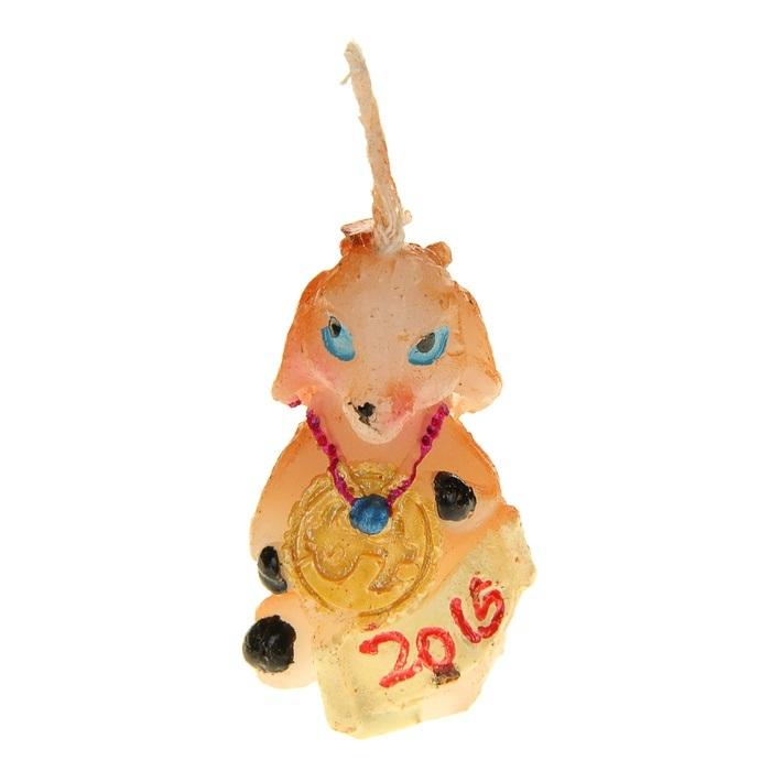 Свеча декоративная Sima-land Коза. 82376328907 4Свеча декоративная Sima-land Коза - отличный подарок, подчеркивающий яркую индивидуальность того, кому он предназначается. Свеча выполнена из высококачественного воска в форме козы. Такая свеча украсит интерьер вашего дома или офиса в преддверии Нового года. Оригинальный дизайн и красочное исполнение создадут праздничное настроение. Материал: воск.Размер свечи (без учета фитиля): 2,5 см х 2 см х 3,5 см.