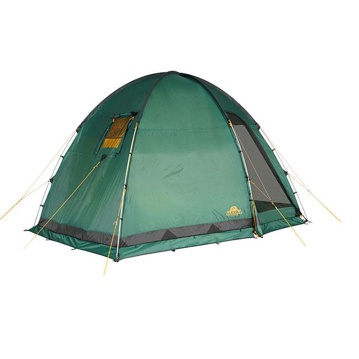 Палатка Alexika Minnesota 3 Luxe 9153.3401, цвет: зеленый9153.3401Эта палатка - идеальный выбор для семьи, состоящей из 3-х человек. С ней вам не придется размышлять, где расположиться самим, а куда пристроить свои вещи. Палатка оснащена просторным тамбуром, который может подойти для обустройства походной кухни. В стенке тамбура имеется прозрачная вставка. В комплекте предусмотрено дно для тамбурного отделения. В палатке MINNESOTA 3 LUXE имеется три входа, каждый из них защищен противомоскитной сеткой. Поэтому спокойные ночи без надоедливого жужжания насекомых вам обеспечены. Для защиты от ветра по периметру палатки располагается «юбка». В местах, на которые приходятся серьезные нагрузки, используется более прочная ткань. MINNESOTA 3 LUXE выделяется среди аналогичных палаток тщательно продуманной системой вентиляции. Ее эффективность достигается за счет наличия вентиляционного окна (располагается в верхней части купола) с ветровым клапаном и торцевого окна, дополненного внешней шторкой на молнии. Для изготовления тента используется специальный материал, пропитанный составом, препятствующим распространению огня. Для изготовления каркасных стоек используется фиберглас, а для пологов дверей предусмотрены дополнительные стойки из более прочного материала (сталь). Вес: 12,4 кг. Количество мест: 3. Сезонность: весна-осень. Размер: 310 x 240 x 195 см. Размер в чехле: 62 x 25 см. Материал тента: Polyester 185T RipStop PU 4000 mm.Материал дна: Polyester 150D Oxford PU 6000 mm. Внутренняя палатка: есть. Материал дуг: Durapol 13 mm. Ветроустойчивость: средняя. Количество входов: 3. Цвет: зеленый. Область применения: кемпинг. Технологии:Пропитка, задерживающая распространение огня. Швы герметизированы термоусадочной лентой. Узлы палатки, испытывающие высокие нагрузки, усилены более прочной тканью. Ветрозащитный полог (юбка) по периметру палатки прошит прочной стропой. Молнии на внешнем тенте фиксируются алюминиевым крючком. Внутренняя палатка оснащена противомоскитной сеткой, к
