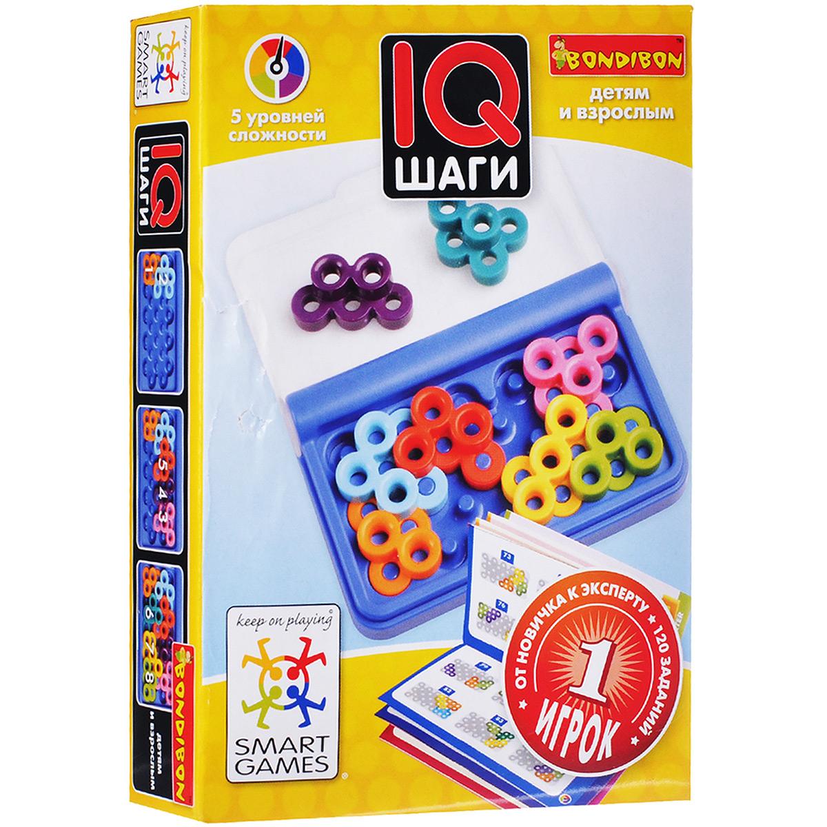 Bondibon Обучающая игра IQ шаги