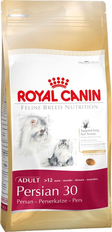 Корм сухой Royal Canin Persian Adult, для взрослых кошек персидских пород старше 12 месяцев, 2 кг788001Корм сухой Royal Canin Persian Adult - полнорационный корм для взрослых кошек персидских пород старше 12 месяцев.Предки персидских кошек были любимцами европейской аристократии, и до сих пор эта порода остается наиболее известной и почитаемой во всем мире! Персидскую кошку ценят не только за ее невероятную красоту, но и за благородный мягкий характер. Спокойствие и безмятежность — вот жизненное кредо этой утонченной аристократки. Королевская красота.Ни одна кошка не может похвастать такой же густой и длинной шерстью: у персидской кошки она достигает 20 см в области воротника. Для поддержания здоровья этой чувствительной шерсти требуются регулярный уход и защита. Помимо всего прочего персидские кошки отличаются разнообразием окрасов: на данный момент существует более 200 видов расцветки шерсти этих обаятельных животных. Предрасположенность к образованию волосяных комочков.Персидские кошки глотают немало шерсти во время ежедневного вылизывания. Непрерывный процесс линьки усугубляется домашним образом жизни. Чтобы предотвратить образование волосяных комочков в пищеварительном тракте, в результате которого могут возникнуть серьезные проблемы, необходимо регулярно вычесывать кошку и использовать адаптированный корм. Особый метод захвата корма, типичный для брахицефалов.В отличие от других кошек, представители персидской породы с характерной плоской мордой захватывают корм нижней поверхностью языка. Поэтому крокеты обычной формы им есть сложно.Все это только подчеркивает необходимость правильного подбора корма для персов. Очень длинная шерсть.Роскошная длинная шерсть с плотным подшерстком — особенность персидской кошки. Продукт PERSIAN содержит эксклюзивный комплекс нутриентов, помогающих поддерживать функцию кожного барьера и таким образом сохранять здоровье кожи и шерсти. Формула обогащена жирными кислотами Омега 3 (EPA и DHA) и Омега 6. Предотвращение образования воло