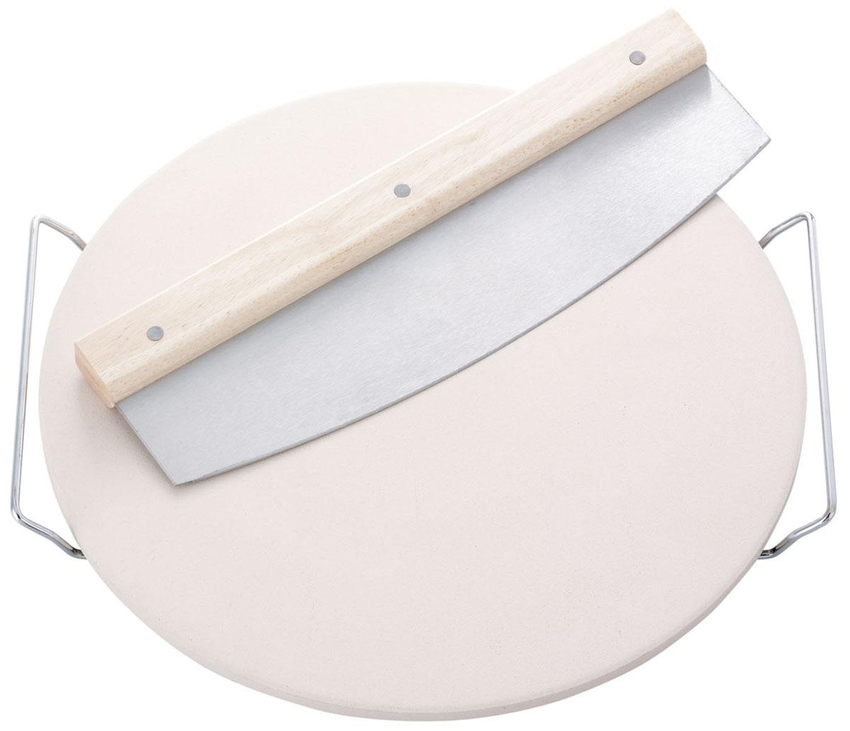 Камень для выпечки круглый54 009312Предназначен для выпекания кулинарных изделий