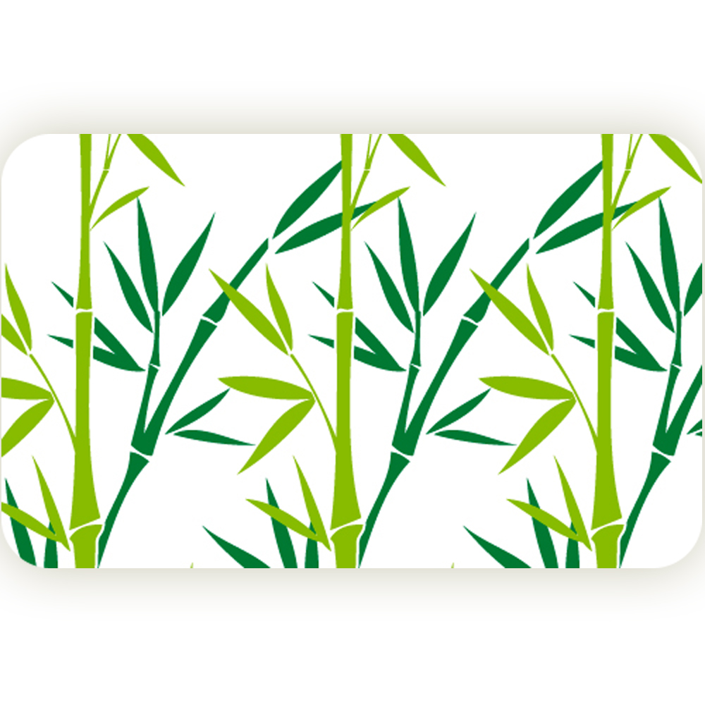 Коврик для ванной комнаты Tatkraft Green Bamboo, 50 см х 80 см391602Коврик для ванной комнаты Tatkraft Green Bamboo изготовлен из микрофибры Ultra Soft - мягкого, приятного на ощупь материала. Коврик отлично поглощает и впитывает влагу. Основание противоскользящее. Яркий красочный рисунок в виде бамбука внесет оригинальную нотку в интерьер ванной комнаты. Коврики Tatkraft - прекрасное решение для ванной комнаты.