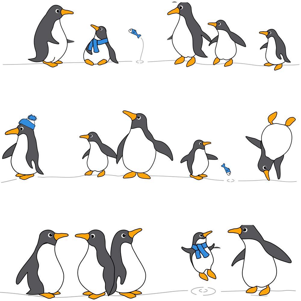 Штора для ванной комнаты Tatkraft Penguins, 180 см х 180 см531-105Штора для ванной Tatkraft Penguins изготовлена из PEVA - водонепроницаемого, мягкого на ощупь и прочного материала. Не содержит ПВХ. Изделие оформлено изображением забавных пингвинов. Специальная водоотталкивающая пропитка позволяет каплям не задерживаться на поверхности, а быстро стекать вниз. Антигрибковое покрытие предотвращает появление плесени и продлевает срок службы. Штора быстро сохнет, легко моется и обладает повышенной износостойкостью. В комплекте имеется 12 овальных пластиковых колец. Два магнита-утяжелителя по углам обеспечивают лучшую фиксацию.Штора для ванной Tatkraft порадует вас своим ярким дизайном и добавит уюта в ванную комнату.