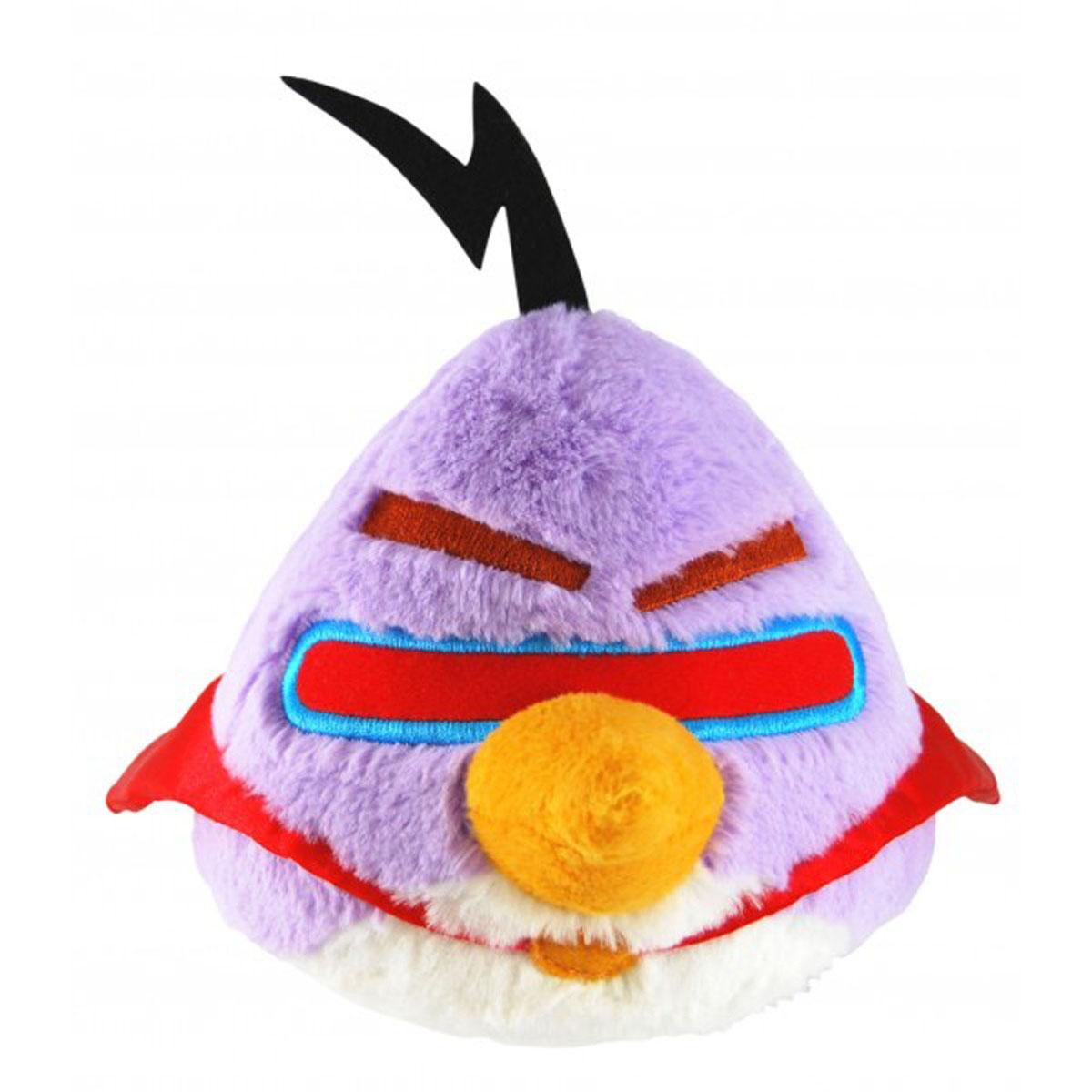 Мягкая игрушка Angry Birds Space, фиолетовая птица, со звуком, 40 см