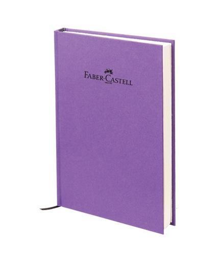 """Блокнот, серия """"Natural"""", формат А6, 100 стр. фиолетовый, в линейку, Faber-Castell"""