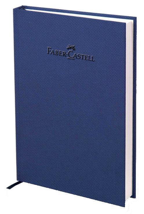 """Блокнот, серия """"Natural"""", формат А6, 100 стр. темно-синий, в линейку, Faber-Castell"""