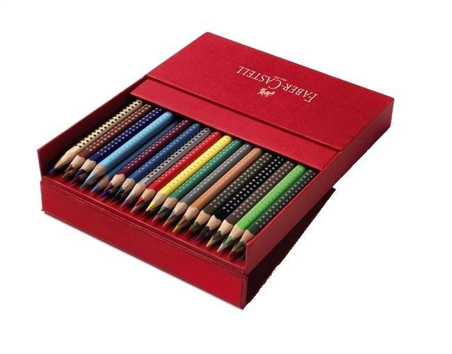 Цветные карандаши GRIP 2001, набор цветов,в студийной (кожзам) коробке, 36 шт.112436Вид карандаша: цветной.Материал: дерево.