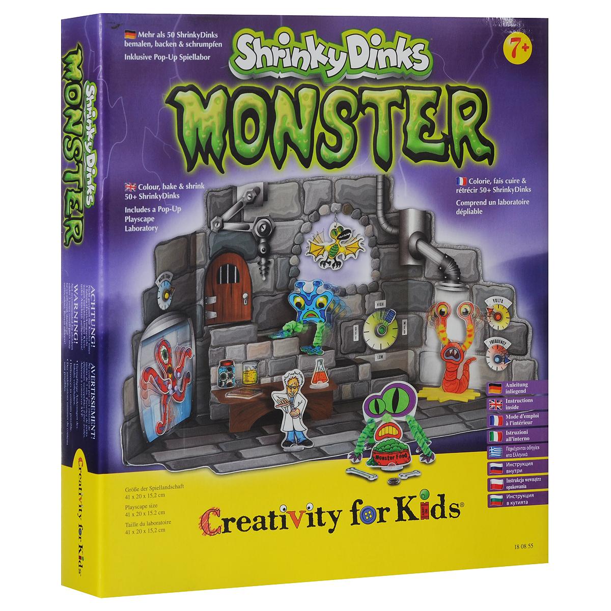 Набор для творчества Монстры Shrinky Dinks