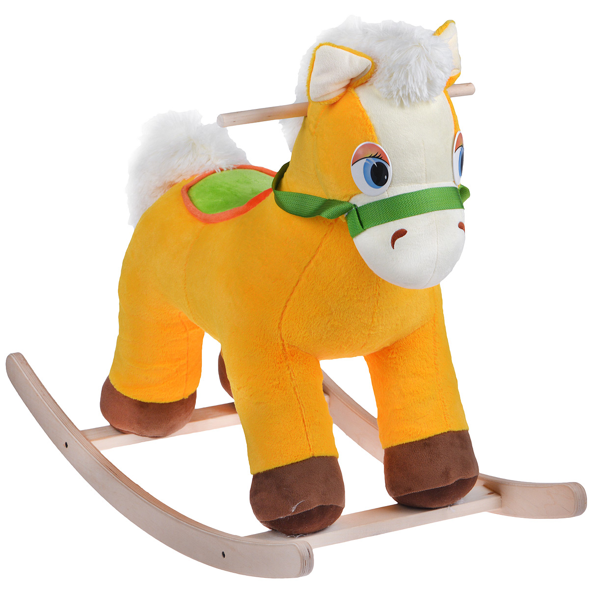Качалка Fancy  Коник Риччи , цвет: желтый, белый, салатовый - Ходунки, прыгунки, качалки