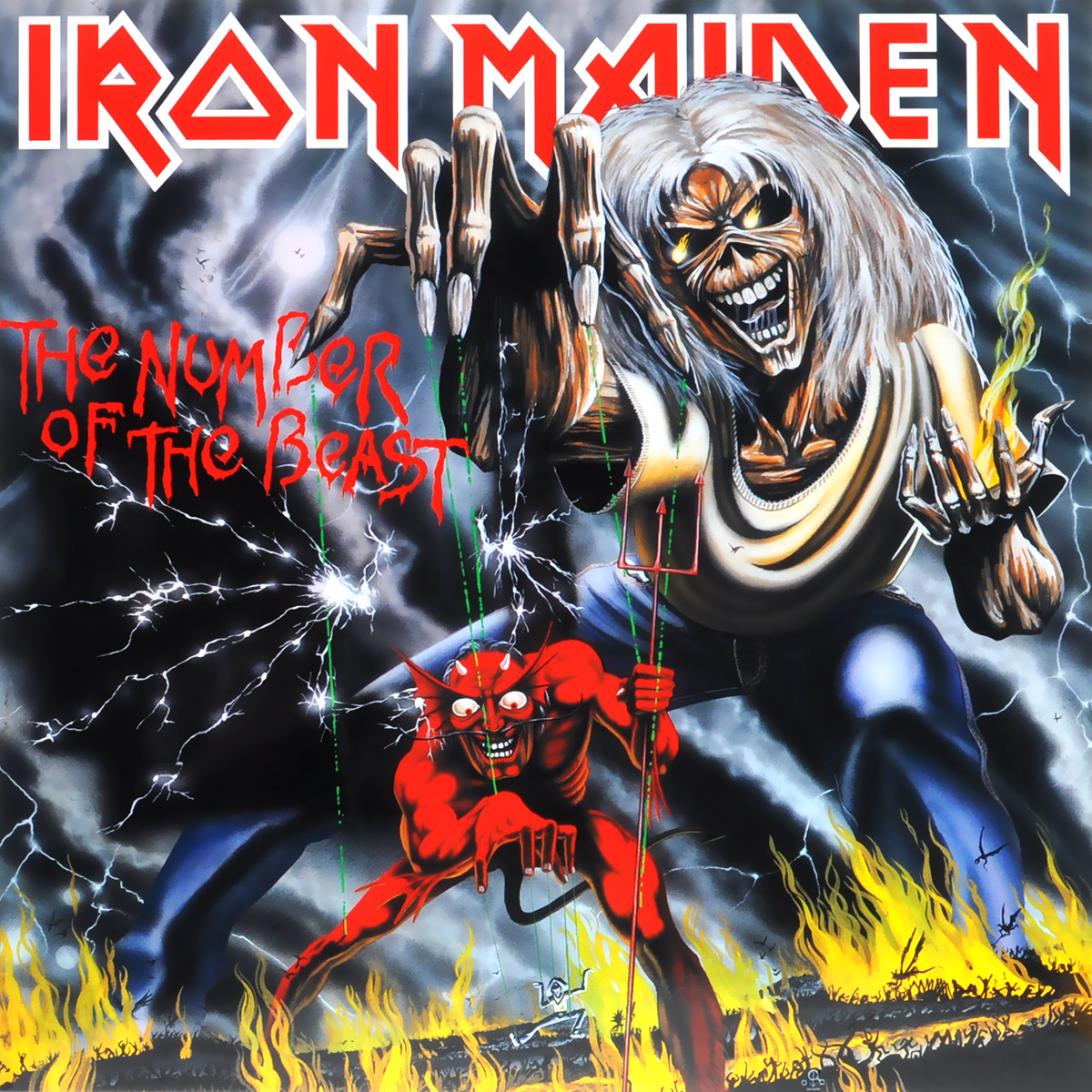 Iron Maiden Iron Maiden. The Number Of The Beast (LP) iron maiden the book of souls 3 lp