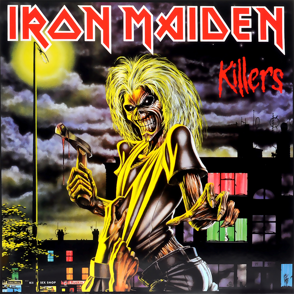 Iron Maiden Iron Maiden. Killers (LP) iron maiden – the book of souls live chapter 3 lp