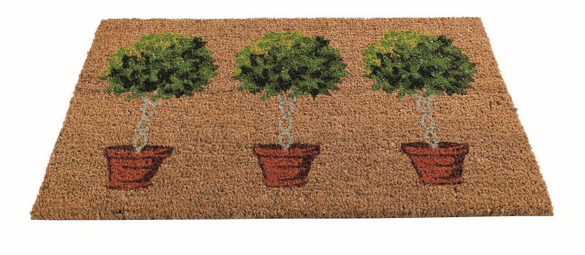 Коврик придверный Gardman Bay Tree, 45 см х 75 смУК-0568Придверный коврик Gardman Bay Tree изготовлен из кокосового волокна с основой из ПВХ. Имеет жесткий ворс. Устойчив к любым погодным условиям. Отличается прочностью, износоустойчивостью и долгим сроком службы. Идеально подходит для создания уюта.
