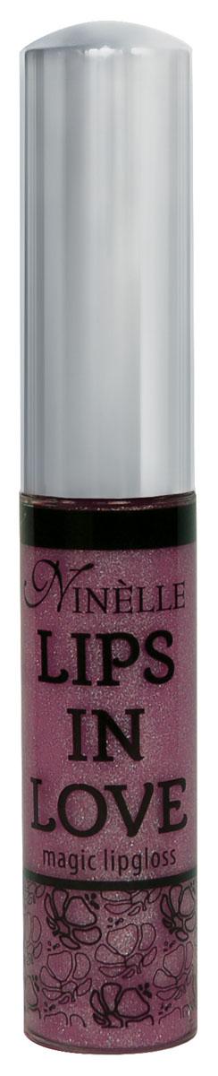 Ninelle Блеск для губ Lips in Love, тон № 25, 10 мл28032022Блеск для губ Lips in Love придает губам дополнительный объем и насыщенный цвет. Гипоаллергенный. Товар сертифицирован.