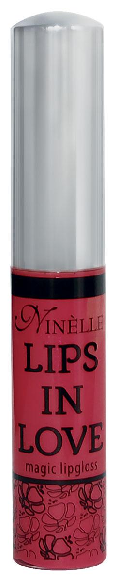 Ninelle Блеск для губ Lips in Love, тон № 27, 10 мл81480587Блеск для губ Lips in Love придает губам дополнительный объем и насыщенный цвет. Гипоаллергенный. Товар сертифицирован.