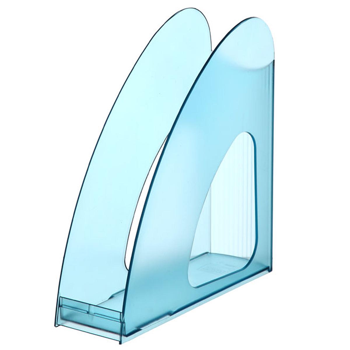 Лоток для бумаг вертикальный HAN Twin, прозрачный, цвет: бирюзовыйHA1611/641Вертикальный лоток для бумаг HAN Twin с оригинальным дизайном корпуса поможет вам навести порядок на столе и сэкономить пространство.Лоток изготовлен из высококачественного антистатического прозрачного пластика. Низкий передний порог облегчает изъятие документов из накопителя.Благодаря лотку для бумаг, важные бумаги и документы всегда будут под рукой.