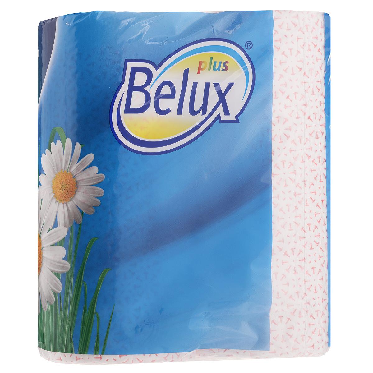 Полотенца кухонные бумажные Belux, двухслойные, цвет: белый, розовый, 2 рулона20119Кухонные бумажные полотенца Belux прекрасно подойдут для использования на кухне. В комплекте - 2 рулона двухслойных полотенец с тиснением. Полотенца мягкие, но в тоже время прочные, с отрывом по линии перфорации.Особенности полотенец:- не оставляют разводов на гладких и стеклянных поверхностях, - идеально впитывают влагу, - отлично впитывают жир, - подходят для ухода за домашними животными, бытовой техникой, автомобилем.Товар сертифицирован.