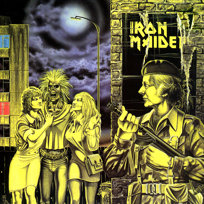 Iron Maiden Iron Maiden. Women in Uniform (LP) iron maiden the book of souls 3 lp