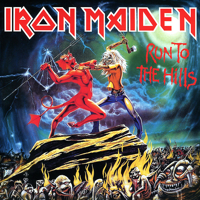 Iron Maiden Iron Maiden. Run To The Hills (LP) iron maiden the book of souls 3 lp
