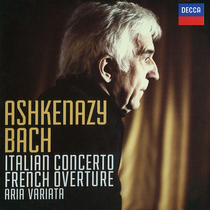 Владимир Ашкенази Vladimir Ashkenazy. Bach. Italian Concerto / French Overture michael mcdonald this christmas live in chicago