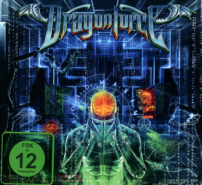 Dragonforce Dragonforce. Maximum Overload (CD + DVD) dragonforce dragonforce maximum overload cd dvd