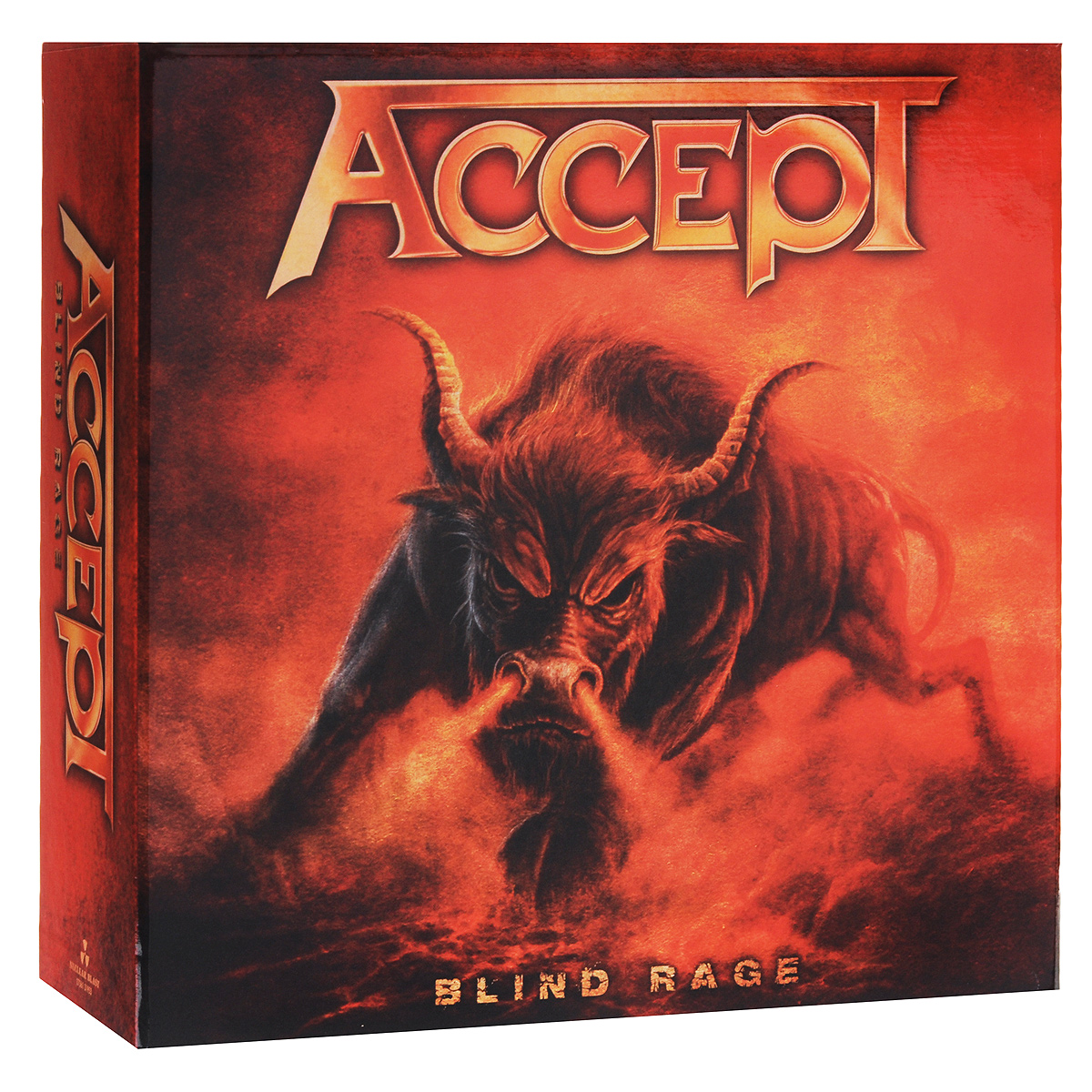 Accept Accept. Blind Rage. Limited Edition (CD +  Blu-ray + DVD + 2 LP)
