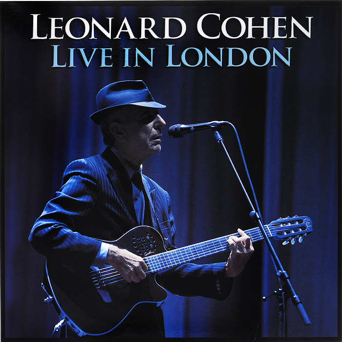 Леонард Коэн Leonard Cohen. Live In London (3 LP) cd диск cohen leonard songs from the road 1 cd