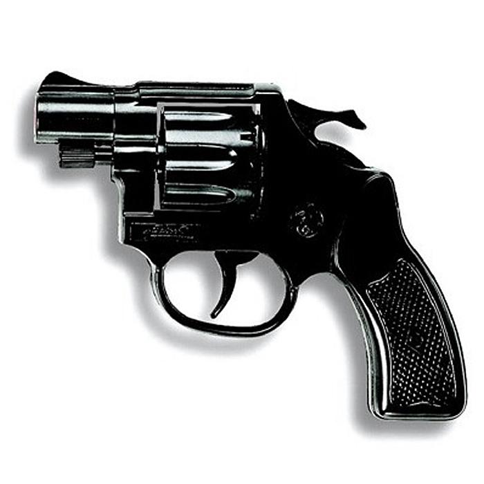 """Пистолет """"Cobra Polizei"""" приведет в восторг любого малыша, увлеченного романтикой детективных расследований и оживленных полицейских погонь. Игрушка выполнена из прочного безопасного пластика и представляет собой реалистичную модель короткоствольного пистолета с вращающимся барабаном. Пистолет отлично стреляет, а удобная рукоять плотно ложится в руку. Емкость магазина: 8 пистонов. Этот пистолет непременно придется по вкусу вашему ребенку, он сможет часами играть с ним, придумывая различные истории и разыгрывая сцены из любимых фильмов. Такие игры помогут малышу развить социальные и коммуникативные навыки, воображение, крупную и мелкую моторику. Порадуйте своего ребенка таким замечательным подарком! Edison Giocattoli - один из лучших производителей игрушечных пистонных пистолетов, мишеней и винтовок с пульками. Игрушки компании Edison Giocattoli выпускаются на итальянских заводах с 1958 г."""