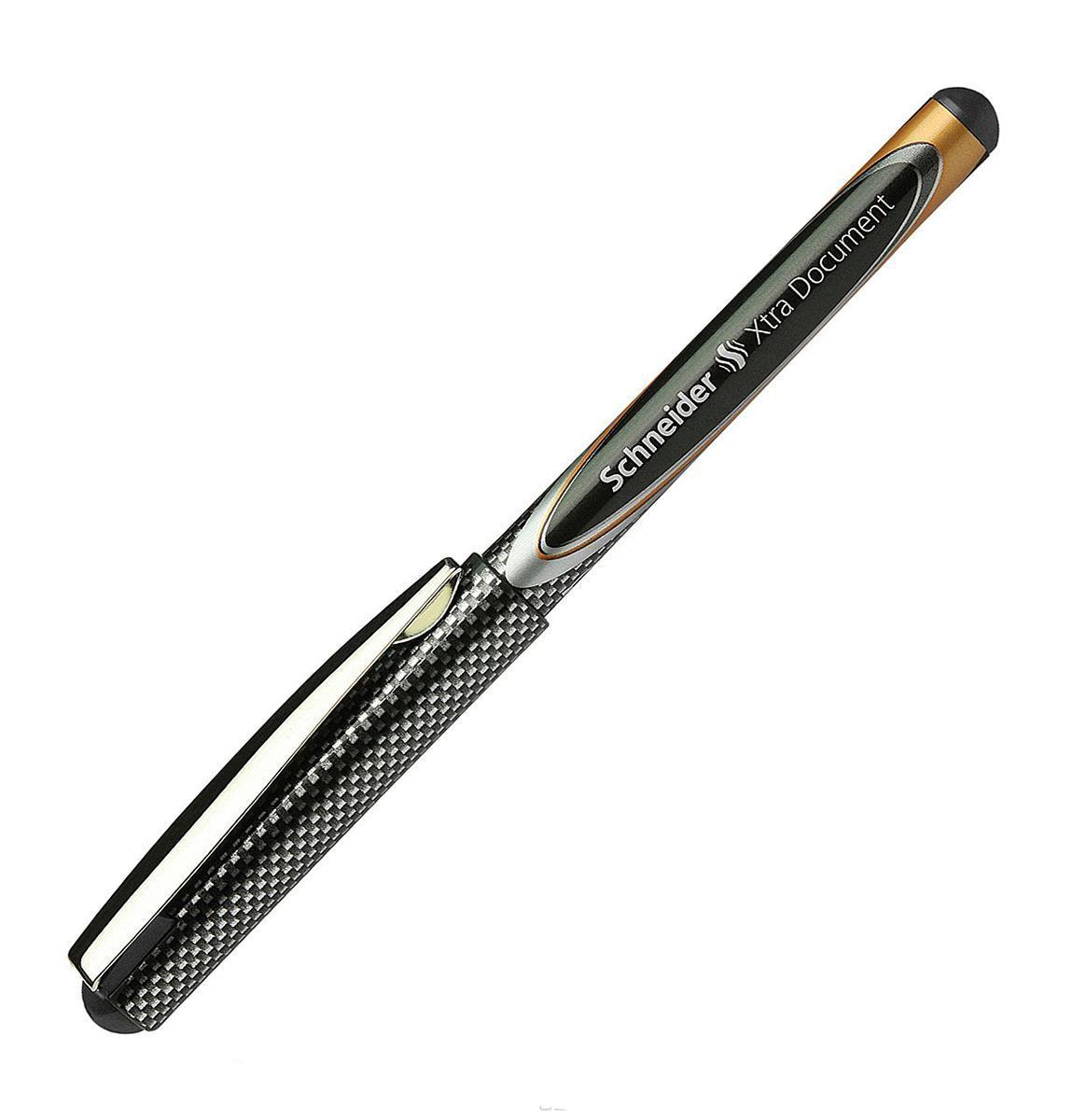 Ручка капиллярная XTRA 800 for documents, 0,6 мм, черный цвет чернил.S800/1 S800-01/1