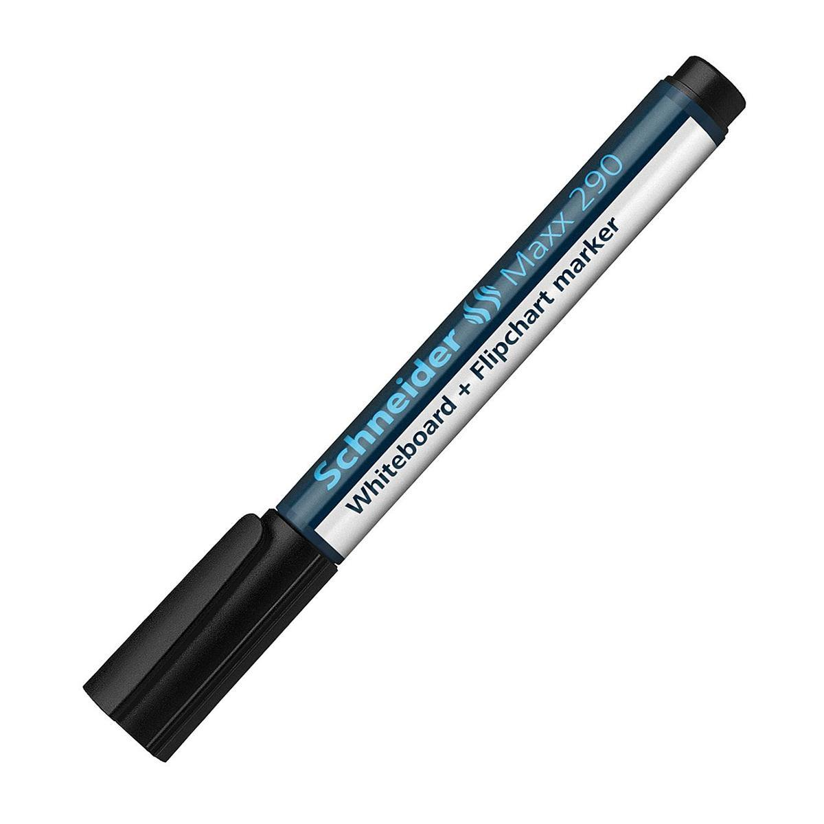 Универсальный маркер Whiteboard and Flipchart Maxx Eco 290; 1-3 мм,черный.S290/1 S290-01/1