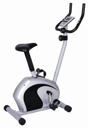 Велотренажер Sport Elit, 97 см х 48,5 см х 128 смSE-400Велотренажер Sport Elit предназначен для тренировки ног. Он имеет магнитную систему изменения нагрузки (8 уровней). Компьютер определяет время тренировки, скорость, дистанцию, пульс, одометр и потраченные калории. Велотренажер оснащен транспортировочными роликами.