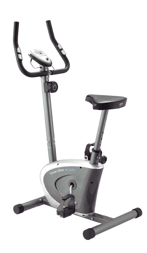 Велотренажер Body Sculpture, цвет: серый, 70 см х 50 см х 115 см. ВС-1670 HХ-Н15032028Велотренажер Body Sculpture предназначен для тренировки ног.Особенности велотренажера:Магнитная система изменения уровня нагрузки Hi-tech обеспечивает плавный ход, а также бесшумную работу.Большое, удобное сиденье, регулируемое по высоте.Датчики измерения пульса находятся на рукоятках тренажера.Ручная регулировка (8 уровней) нагрузки для сопротивления при тренировке.Компьютер сканирует: пульс, время, скорость, дистанцию и потраченные калории.Опция одометр показывает расстояние, которое пройдено с момента первого включения. То есть общее расстояние с первой тренировки. Маленькая буква «к» означает, что расстояние измеряется в километрах.