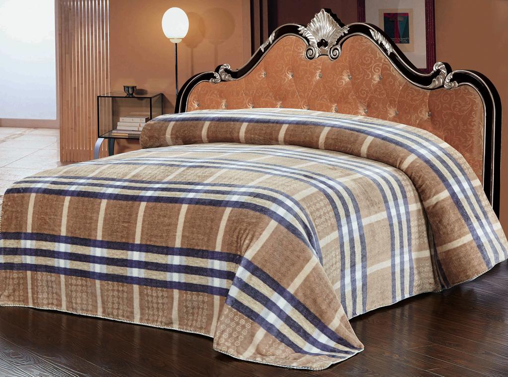 Плед SL, цвет: коричневый, синий, 200 х 220 см 1021568/5/3Роскошный плед Soft Line гармонично впишется в интерьер вашего дома и создаст атмосферу уюта и комфорта. Плед выполнен из мягкого и приятного на ощупь флиса с принтом в сине-коричневую клетку. Высочайшее качество материала гарантирует безопасность не только взрослых, но и самых маленьких членов семьи.Плед - это такой подарок, который будет всегда актуален, особенно для ваших родных и близких, ведь вы дарите им частичку своего тепла!Soft Line предлагает широкий ассортимент высококачественного домашнего текстиля разных направлений и стилей. Это и постельное белье из тканей различных фактур и орнаментов, а также мягкие теплые пледы, красивые покрывала, воздушные банные халаты, текстиль для гостиниц и домов отдыха, практичные наматрасники, изысканные шторы, полотенца и разнообразное столовое белье. Soft Line - это ваш путеводитель по мягкому миру текстиля, полному удивительных достопримечательностей. Постельное белье марки Soft Line подарит вам радость и комфорт!