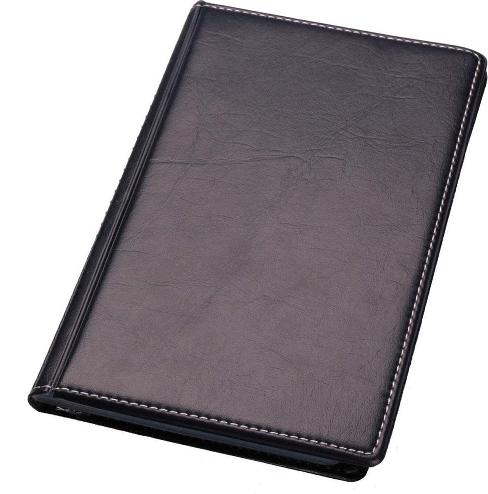 Визитница Centrum, на 120 визиток, цвет: черный. 83229FS-00102Визитница Centrum станет великолепным подарком для любого современного делового человека, ценящего стиль и качество. Визитница предназначена для хранения и транспортировки именных и банковских карт, визиток а также мелких документов.Обложка визитницы покрыта высококачественной искусственной кожей. Внутри располагается трехрядный пластиковый блок на 120 визиток.Благодаря своему дизайну, визитница прекрасно впишется в интерьер любого офиса или дома. Она надежно сохранит ваши карты и сбережет их от повреждений, пыли и влаги.