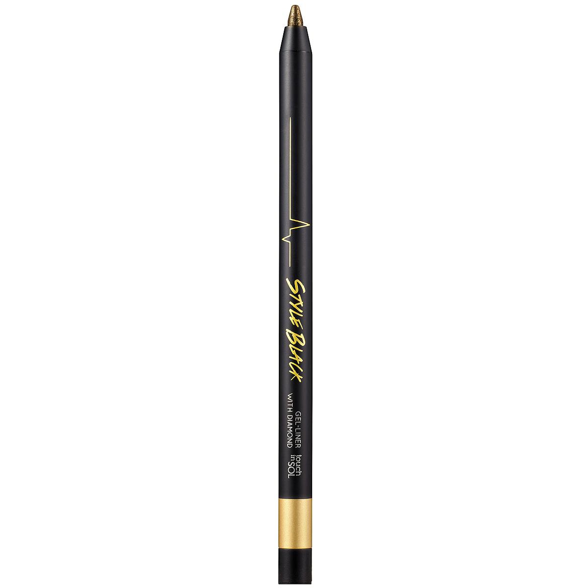 Touch in Sol Гелевый карандаш для глаз Style Black, оттенок №3 Gold, 0,5 гУТ000000762Ультрастойкий гелевый карандаш сохраняет макияж безупречным в течение всего дня. Молочный протеин и успокаивающий цветочный экстракт заботливо ухаживают за кожей, хорошо подходит для особо чувствительных глазах. Кремовый контурный карандаш поможет вам придать взгляду очаровательную выразительность. Благодаря его текстуре вы сможете контролировать яркость и толщину линии, растушевав карандаш создать загадочный образ Смоки Айз.Товар сертифицирован.
