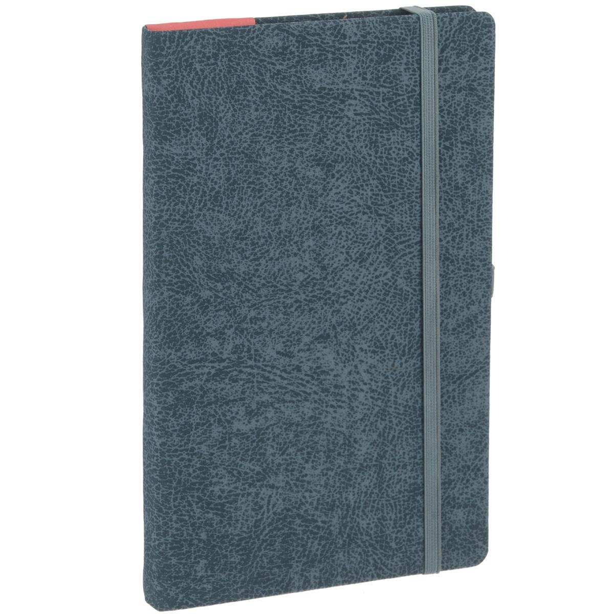 Записная книжка Erich Krause Perfect, цвет: серый, 96 листов72523WDЗаписная книжка Erich Krause Perfect - это дополнительный штрих к вашему имиджу. Демократичная в своем содержании, книжка может быть использована не только для личных пометок и записей, но и как недатированный ежедневник. Надежная твердая обложка из плотного картона с тиснением под кожу сохранит ее в аккуратном состоянии на протяжении всего времени использования. Плотная в линейку бумага белого цвета, закладка-ляссе, практичные скругленные углы, эластичная петелька для ручки и внутренний бумажный карман на задней обложке - все это обеспечит вам истинное удовольствие от письма. В начале книжки имеется страничка для заполнения личных данных владельца, четыре страницы для заполнения адресов, телефонов и интернет-почты и четыре страницы для заполнения сайтов и ссылок. Благодаря небольшому формату книжку легко взять с собой. Записная книжка плотно закрывается при помощи фиксирующей резинки.