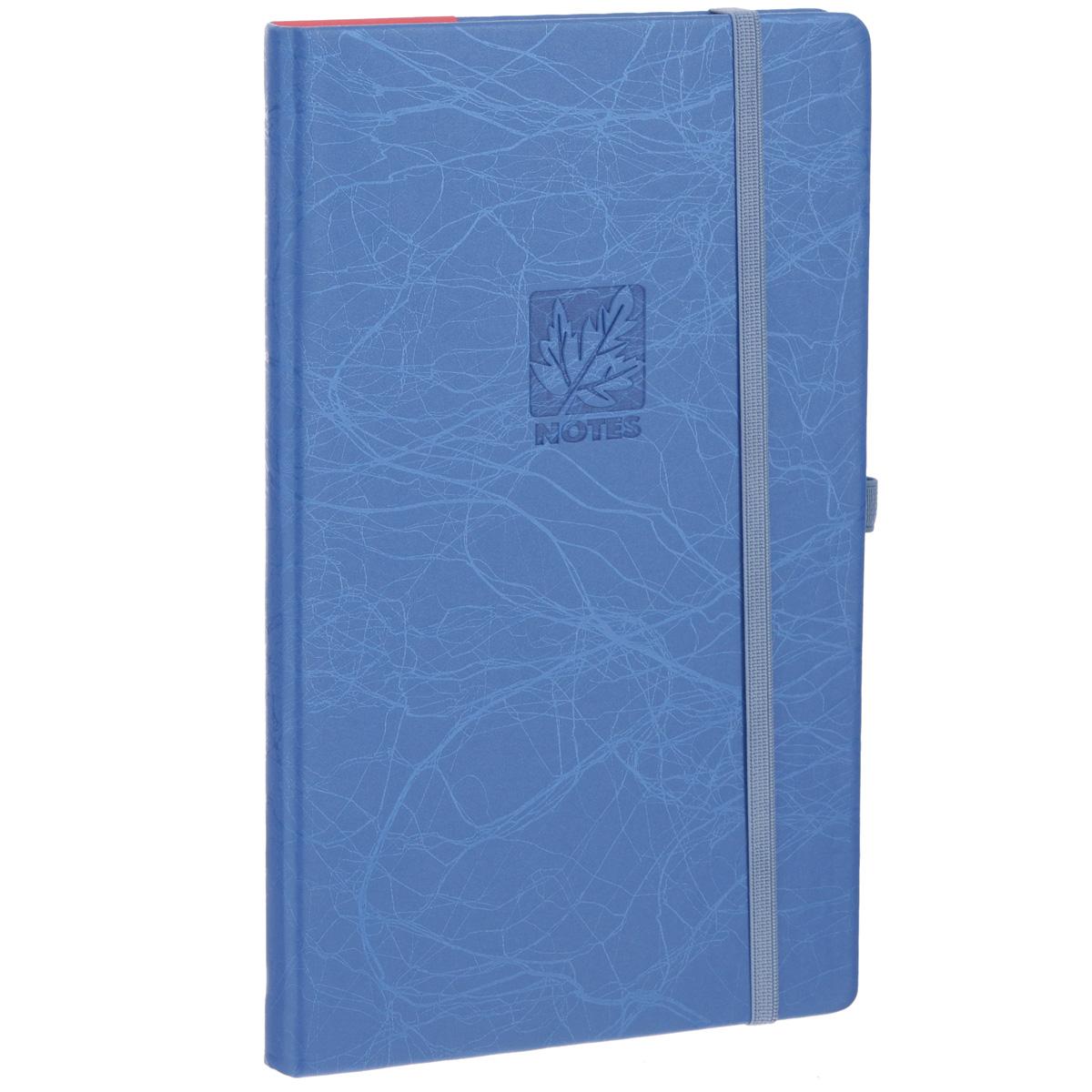 Записная книжка Erich Krause Scribble, цвет: синий, 96 листов72523WDЗаписная книжка Erich Krause Scribble - это дополнительный штрих к вашему имиджу. Демократичная в своем содержании, книжка может быть использована не только для личных пометок и записей, но и как недатированный ежедневник. Надежная твердая обложка из плотного картона, обтянутого искусственной кожей, сохранит ее в аккуратном состоянии на протяжении всего времени использования. Плотная в линейку бумага белого цвета, закладка-ляссе, практичные скругленные углы, эластичная петелька для ручки и внутренний бумажный карман на задней обложке - все это обеспечит вам истинное удовольствие от письма. В начале книжки имеется страничка для заполнения личных данных владельца, четыре страницы для заполнения адресов, телефонов и интернет-почты и четыре страницы для заполнения сайтов и ссылок. Благодаря небольшому формату книжку легко взять с собой. Записная книжка плотно закрывается при помощи фиксирующей резинки.