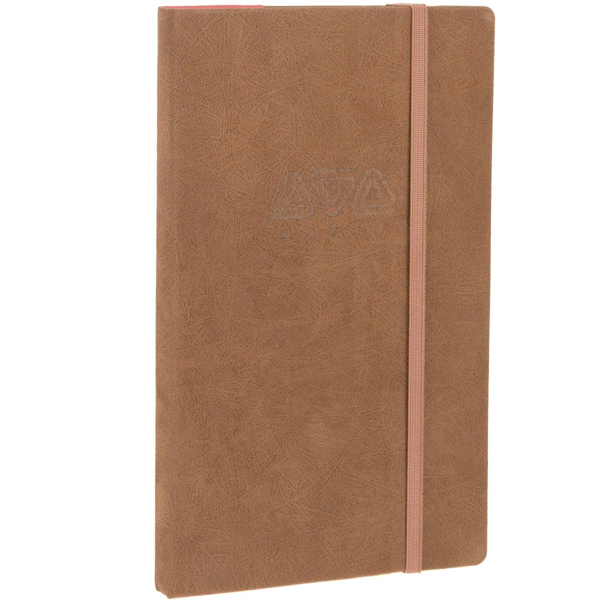 Записная книжка Erich Krause Ethnic, цвет: коричневый, 96 листовС1692-08Записная книжка Erich Krause Ethnic - это дополнительный штрих к вашему имиджу. Демократичная в своем содержании, книжка может быть использована не только для личных пометок и записей, но и как недатированный ежедневник. Надежная твердая обложка из плотного картона, обтянутого приятным на ощупь текстильным материалом, сохранит ее в аккуратном состоянии на протяжении всего времени использования. Плотная в линейку бумага белого цвета, закладка-ляссе, практичные скругленные углы, эластичная петелька для ручки и внутренний бумажный карман на задней обложке - все это обеспечит вам истинное удовольствие от письма. В начале книжки имеется страничка для заполнения личных данных владельца, четыре страницы для заполнения адресов, телефонов и интернет-почты и четыре страницы для заполнения сайтов и ссылок. Благодаря небольшому формату книжку легко взять с собой. Записная книжка плотно закрывается при помощи фиксирующей резинки.
