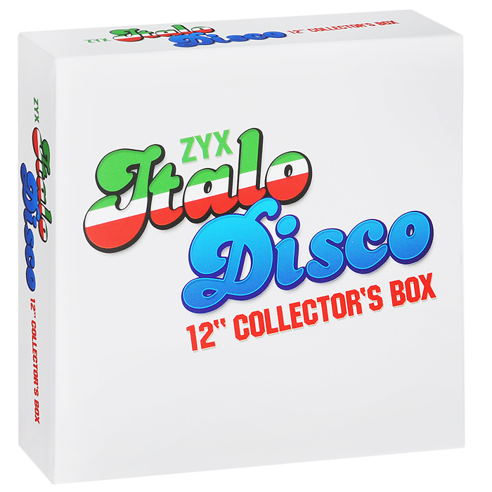 Пи Лайон,Кен Лацло,Radiorama,Laserdance,Plastic Mode,Ли Мэрроу,Italian Boys,Savage,Дэн Хэрроу,Scotch Italo Disco. 12 Inch Collector' Box (10 CD)