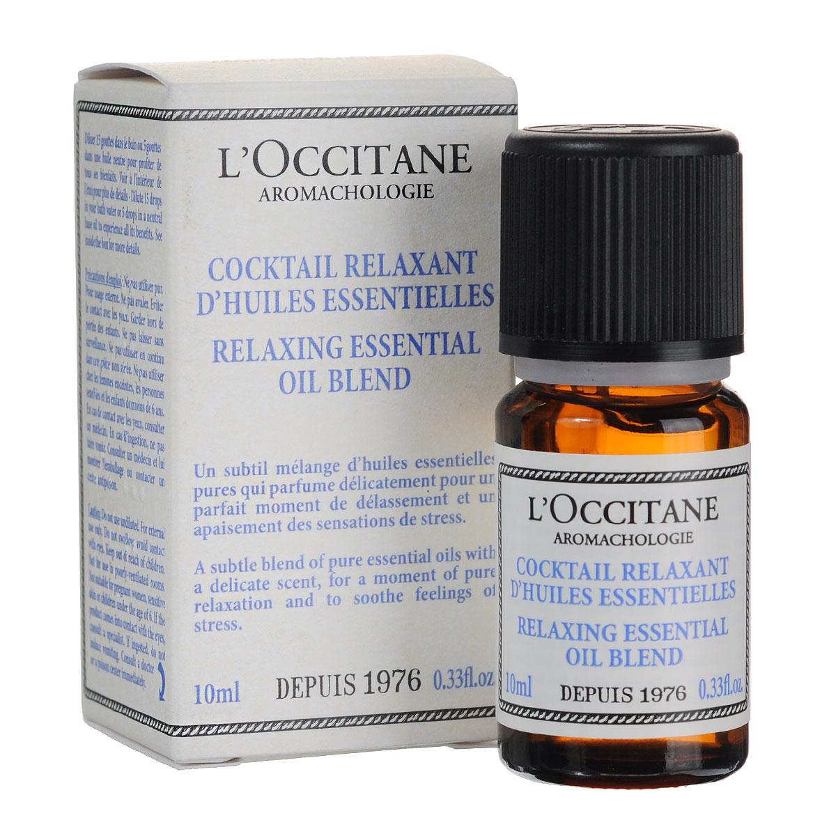 LOccitane Эфирное масло Аромакология, расслабляющее, 10 млFS-00897Расслабляющая смесь чистых эфирных масел помогает снять напряжение и избавиться от стресса.Товар сертифицирован.