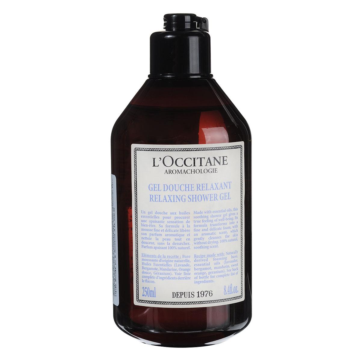 LOccitane Гель для ванн и душа Аромакология, расслабляющий, 250 млFS-00897Этот успокаивающий гель для душа дарит отличное самочувствие и настроение.Формула без сульфатов мягко очищает кожу, а натуральный аромат помогает полностью расслабиться.Товар сертифицирован.