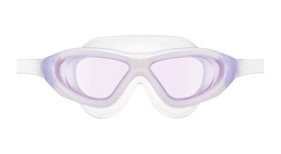 Очки для плавания View Xtreme, цвет: светло-фиолетовыйJ504N-9093Маска для плавания View Xtreme имеет низкопрофильный гидродинамический дизайн, обеспечивающий максимальный комфорт и великолепный обзор во время плавания или занятий водными видами спорта в любых условиях. Модель Xtreme имеет уменьшенную конструкцию рамки и революционную быстро регулируемую систему пряжек (заявка на патент), что значительно уменьшает сопротивление воды, по сравнению с аналогичными моделями. Высококачественные скругленные края силиконового обтюратора маски гарантируют абсолютную водонепроницаемость и максимальный комфорт во время тренировок. Маска для плавания View Xtreme обеспечивает 100% защиту от ультрафиолетового излучения (UVA/UVB) и широкий угол обзора - 180 градусов. Характеристики:Цвет: светло-фиолетовый. Материал: силикон, поликарбонат, полиуретан. Размер наглазников: 13 см х 6 см. Длина оправы: 17 см. Изготовитель: Япония. Артикул: TS V-1000N LV/W.