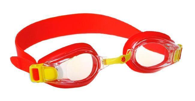 Очки для плавания MadWave Bubble Junior, цвет: красныйM0455 03 0 17WУдобные детские (2-6 лет) очки с регулируемым ремешком. Защита от ультрафиолетовых лучей. Антизапотевающие стекла. Линзы из поликарбоната. Регулируемая мультиступенчатая переносица. Силиконовый обтюратор и ремешок. Характеристики: Материал: силикон, пластик. Размер очков: 16 см х 4 см. Цвет: красный. Размер упаковки: 16,5 см х 6,5 см х 3 см. Артикул: M0411 03 0 05W.